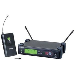 Shure SLX14/93 UHF Wireless Lavalier Mic System