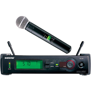 Shure SLX24/SM58 UHF Vocal Wireless System