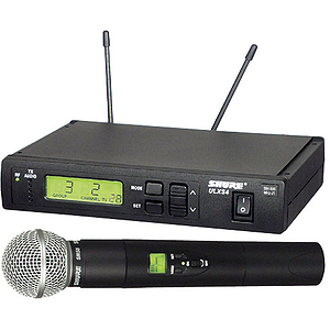 Shure ULXS24/Beta58 UHF Vocal Wireless Mic System