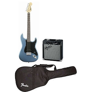 Fender Squier Bullet Special Electric Guitar Starter Pack - Ice Blue Metallic