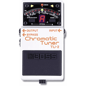 BOSS TU-2 Stage Tuner