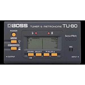 Boss TU-80 Chromatic Tuner & Metronome
