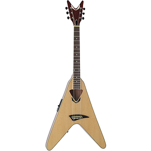 Dean V-Coustic Flying V Style Acoustic-Electric Guitar