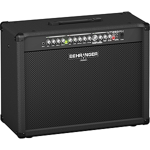 Behringer VT250FX Guitar Combo Amplifier with 2 Independent Channels, VTC Tube Modeling, Dual FX - 2x12, 100W