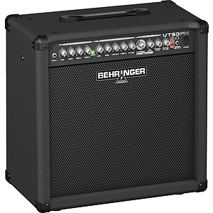 Behringer VT50FX Guitar Combo Amplifier with 2 Independent Channels, VTC Tube Modeling, Dual FX - 1x12, 50W