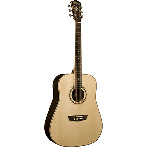 Washburn WD20S WD20 Series Solid-top Dreadnought Acoustic Guitar - Natural