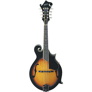 Washburn M3SW Florentine-style Solid-top Mandolin - Sunburst - with case