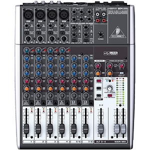 Behringer XENYX 1204USB 12-Channel 2/2-Bus Mixer with USB Interface and Recording Software