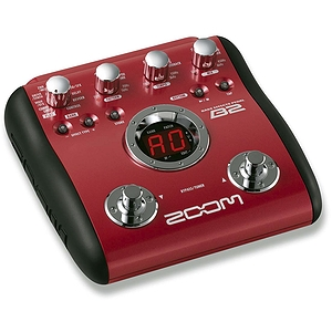 Zoom B2 Multi-Effects Bass Guitar Pedal
