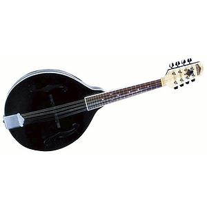 Flinthill A-Style Mandolin, Black