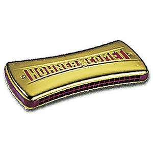 Hohner Double Sided Comet Wender Harmonica, C - G