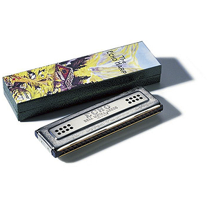 Hohner 48 Hole Double Sided Echo Harmonica, Key of C - G