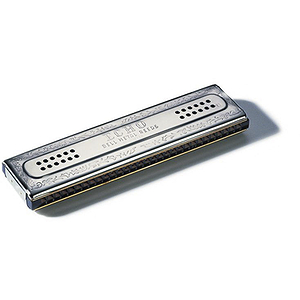 Hohner 60 Hole Double Sided Echo Harmonica, Key of C - G
