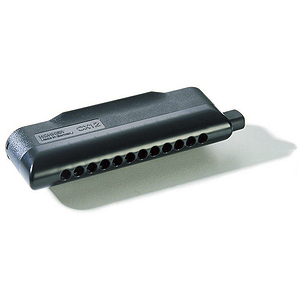 Hohner CX-12 Chromatic Harmonica, Black, Key of G