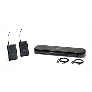 Shure PG188/PG185 Dual Lavalier Wireless System, H7