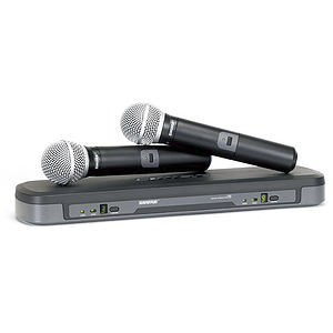 Shure PG288/PG58 Dual Vocal Wireless System, H7