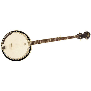 Woods 5 String Banjo w/ Geared 5th Peg