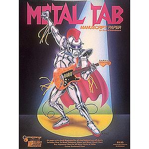 Metal Tab Manuscript Pad