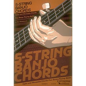 5-String Banjo Chord Chart