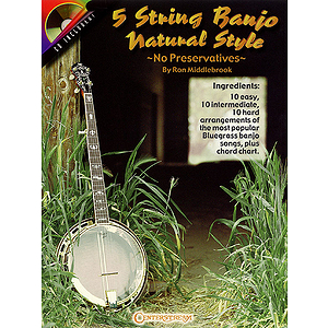 5 String Banjo Natural Style