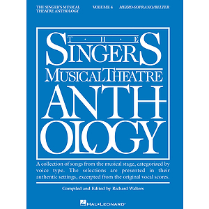 Singer&#039;s Musical Theatre Anthology - Volume 4
