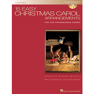 15 Easy Christmas Carol Arrangements - Low Voice
