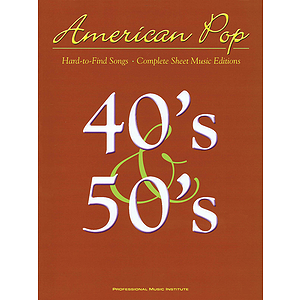 American Pop - 40s and 50s Hard to Find Songs