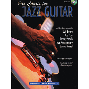 Pro Charts for Jazz Guitar