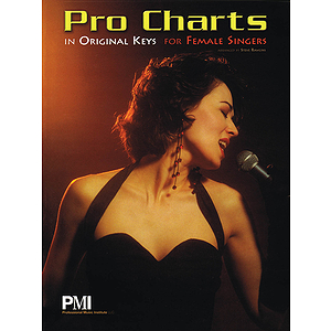 Pro Charts in Original Keys for Female Singers
