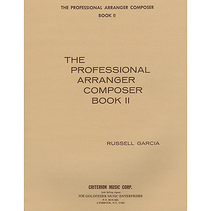 The Professional Arranger Composer - Book 2
