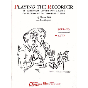 Playing the Recorder - Alto
