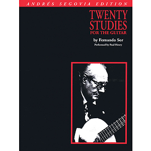 Andres Segovia - 20 Studies for Guitar
