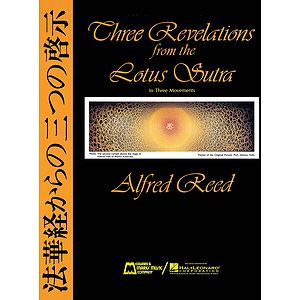 Three Revelations From The Lotus Sutra (ii. Contemplation, Iii. Rejoicing) - Full Score