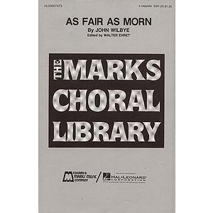 As Fair As Morn