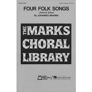 Four Folk Songs (Collection)