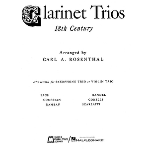 Clarinet Trios of the 18th Century