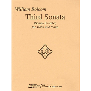 Third Sonata (Sonata Stramba) for Violin and Piano