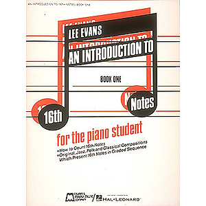 Introduction To 16th Notes - Book 1 - Piano