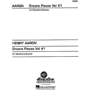 Encore Pieces for Woodwind Quintet, Vol. 1