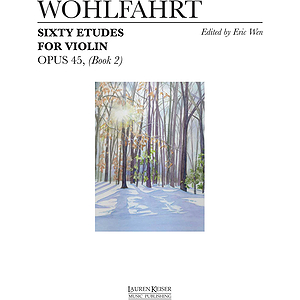 60 Etudes for Violin, Op. 45