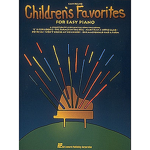 Children's Favorites For Easy Piano