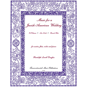 Music for a Jewish-American Wedding