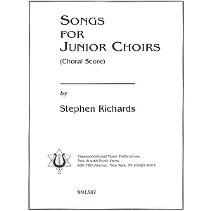 Songs for Junior Choirs