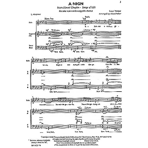 A Nign (A Melody)