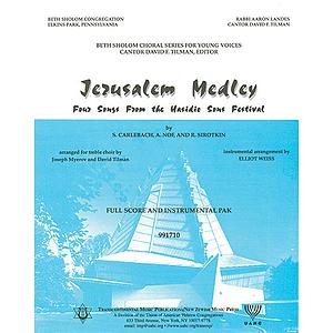 Jerusalem Medley (Instrumental Pak)