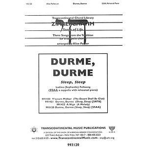 Durme, Durme (Sleep, Sleep)