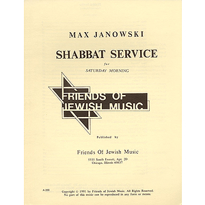 Shabbat Service For Saturday Morning