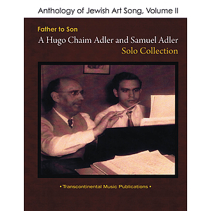 Anthology of Jewish Art Song, Vol. 2