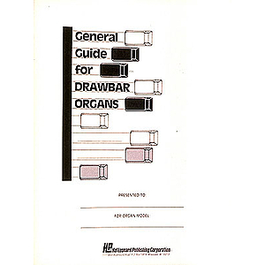 General Guide For Drawbar Organs