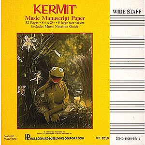 Kermit Manuscript Paper